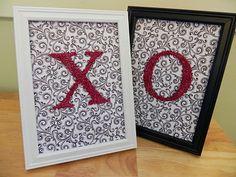 Cute DIY Valentines Decor!