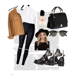 """Untitled #60"" by clodfever on Polyvore featuring Topshop, Madewell, RHYTHM, Balenciaga, Miu Miu, Ray-Ban and Giorgio Armani"