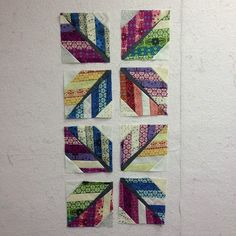 The Intrepid Thread: Leaf (feather) Quilt Block Tutorial and Giveaway