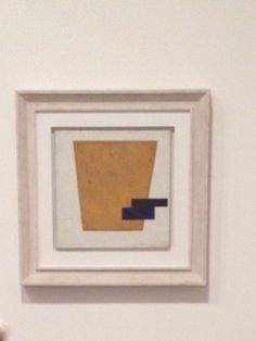 Malevich Exhibition at Tate Modern London -  Suprematist Composition with Plane