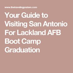 Pfingston Center On Lackland Afb Is Where You Will Start