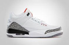 Air Jordan 3 Retro  88 White Cement Grey Jordan 3 White Cement aad41cba8
