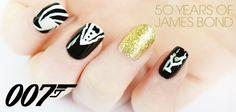 She Said Beauty  50 Years Of James Bond: 007 Nail Art