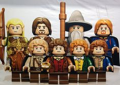 LEGO LOTR-Let's be honest I am going to get every set and it isn't going to be for the kids!