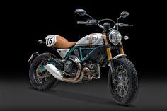 Ducati Scrambler by Paul Smart #motorcycles #scrambler #motos | caferacerpasion.com