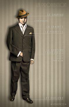 Venefice: Le look prohibition : 2ème partie - côté homme