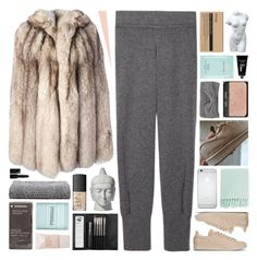 """foreplay in a foyer"" by annamari-a ❤ liked on Polyvore featuring Raquel Allegra, Sephora Collection, NARS Cosmetics, adidas, Aesop, Surya, Korres, Estée Lauder, TokyoMilk and MM6 Maison Margiela"