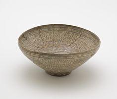 ca Stoneware with white inlay under transparent glaze. Moon Jar, Freer Gallery, Wash Brush, Coffee Set, Ancient Art, Ceramic Pottery, Tea Set, Stoneware, Decorative Bowls