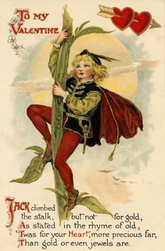Vintage Valentine's Postcard From Personal Collection...
