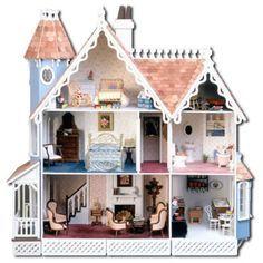 Casinhas de Bonecas em Miniatura - Edicris