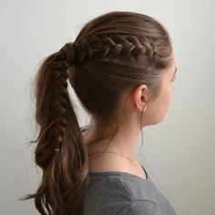 I have put together a collection of girls pretty & easy school hairstyles to inspire to go beyond a standard ponytail.
