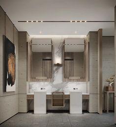 Bathroom Spa, Bathroom Toilets, Bathroom Interior, Washroom, Matrix Design, Hotel Lobby Design, Restroom Design, Interior Decorating, Interior Design