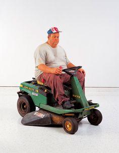 Duane Hanson - Man on mower