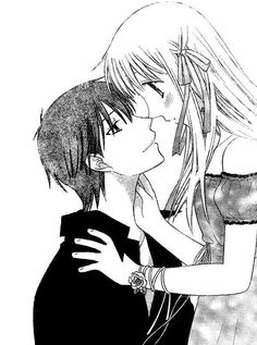 Kyou & Tohru.....okay, okay. I admit it! Fruit's Basket isnt all that bad after all! It's actually incredible! :D