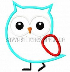 Savvy Stitches strutting owl