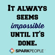If you're thinking about skipping the gym today, here's something to keep in mind. No matter how hard your #workout seems right now, think of how good you'll feel when you overcome your doubts and follow through with it. You CAN do this--you just need to believe it! | via @SparkPeople #motivation #quotes #inspiration #fitspiration