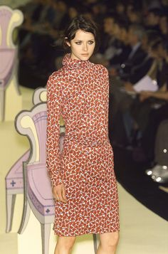 Cacharel at Paris Fall 2001 Clements Ribeiro