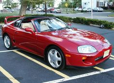 It might not look like much to you...but I want one so badly. (Toyota Supra)