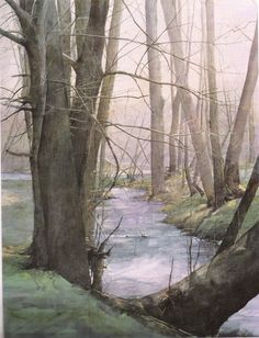Priceless Treasures - Dean Mitchell - watercolor