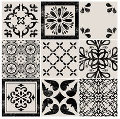 Kitchen & Bathroom Mexican Mix Vinyl Tile Sticker by QUADROSTYLE