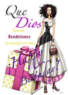 🎂🎈Que Dios llene de Bendiciones tu corazón 💕 y tu vida Happy Birthday Quotes, Happy Birthday Wishes, Birthday Greetings, African American Birthday Cards, Happy Birthday Wallpaper, Holiday Fun, Birthdays, Celebrities, Mary