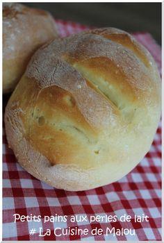 Petits pains aux Perles de lait