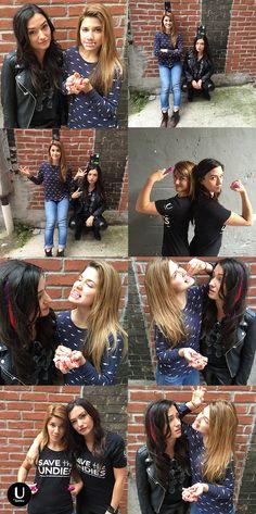 @ubykotex | Love is love is love is love! | Natasha Negovanlis as #CarmillaKarnstein & Elise Bauman as #LauraHollis