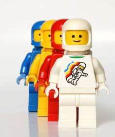 Classic Space Suit <- The best part is that they're all intact. How much money could you get from those four?