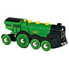 Brio Big Green Action Locomotive Train