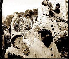 Carnaval (MADRID 1915) (Liborio C. Porset (ARCHIVO RAGEL)) Tags: madrid antigua disfraz carnaval mascara fotografia pierrot antiguo mascarada tradicion