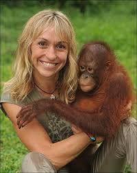 Lone Droscher Nielsen - Orangutan Hero