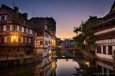 Petite-France, Strasbourg, France by Mathieu Dupuis www.mathieudupuis.com