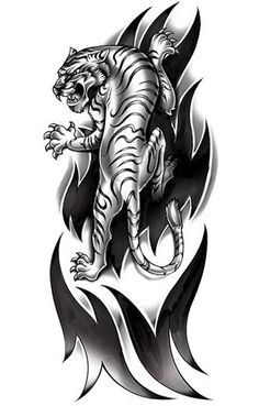 63 Meilleures Images Du Tableau Tatouage Tigre Tiger Tattoo Ink