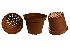 Plastic Pots for Plants Cuttings  Seedlings 4Inch 30Pack Color Terracotta *** Check out this great product.