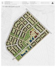 Şehir ve Bölge Planlama Bölümü Öğrenci Projelerinden Örnekler