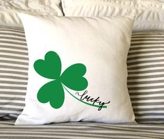 Hey, I found this really awesome Etsy listing at https://www.etsy.com/listing/266699418/st-patricks-day-pillow-lucky-pillow