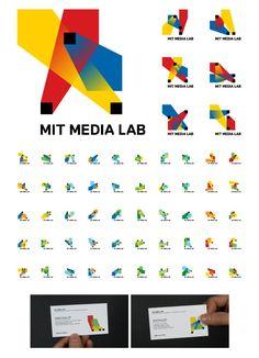 Logos cambiantes. Cuadrados (píxel, internet), colores de pantalla, intersecciones, integración de varias modalidades de pago