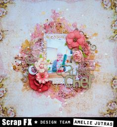 Floral Wreath, Scrapbooking, Wreaths, Home Decor, Floral Crown, Decoration Home, Door Wreaths, Room Decor, Deco Mesh Wreaths