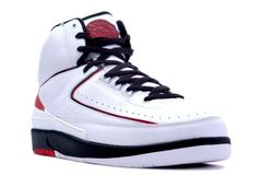 Air Jordan 2 Retro men\\u0026#39;s shoe(white/black