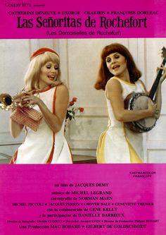 """""""Las señoritas de Rochefort"""", """"Les demoiselles de Rochefort"""" (1967). COUNTRY: France. DIRECTOR: Jacques Demy"""