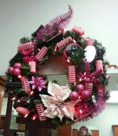 Salon Christmas Wreath! Salon 531
