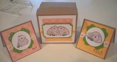 3x3 gift card set with matching box