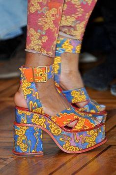 Westwood shoes, increibles los estampados, fuera de serie!!