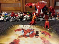 ........ ........ .... SOLD !!! ..... ........  LEGO Bionicle Bohrok Tahnok 8563 2002 Collectors Complete set RARE #LEGO