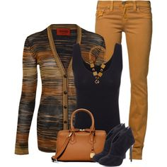 """Missoni striped cardigan"" by fashion-766 on Polyvore"