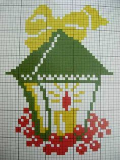 Point de croix Noël *m@* Cross stitch