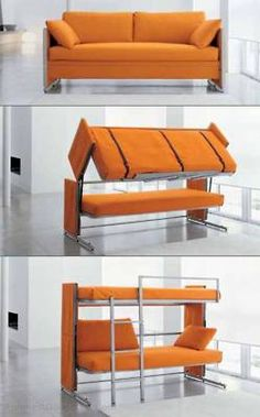 this is really cool if you happen to have guest over a lot and they don't mind sleeping on a bunk bed. Or even for the kids room...