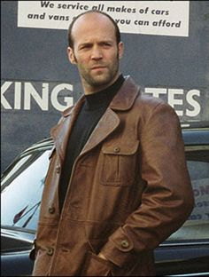 Jason Statham The Bank Job Leather Jacket  Product Specification:   Movie: The Bank Job Celebrity: Jason Statham Front Button closere Colour: Dark Brown Pocket: Four front Pocket
