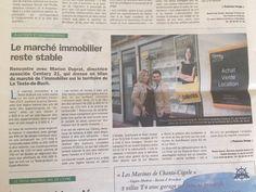 Les Cahiers de la Dépêche du Bassin / Immobilier / La Teste de Buch / Marion Duprat / Vincent Donnesse