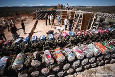 EB Academy Works on Local Humanitarian Effort - Earthship Biotecture Earthship Biotecture, Birkenstock Florida, Sustainable Architecture, Sustainable Living, New Mexico, Sustainability, Germany, Building, Image